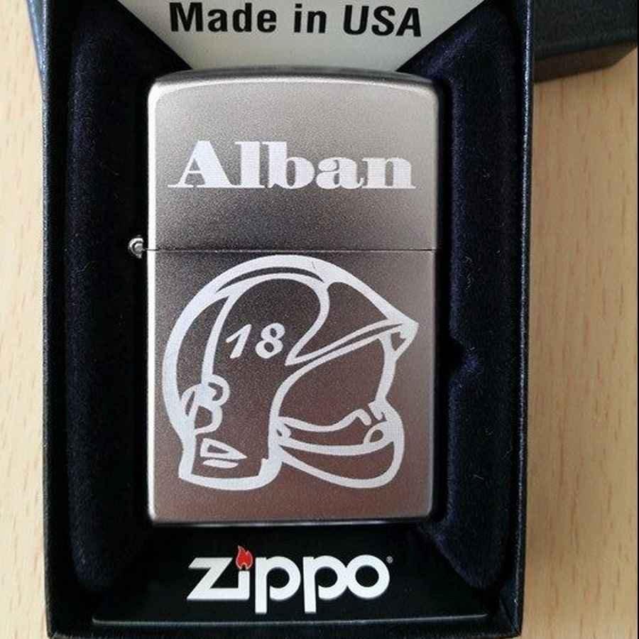 zippo gravé