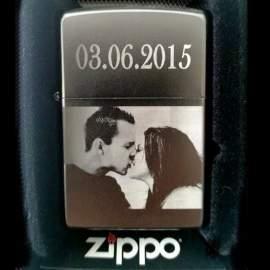 zippo personnalisé couple