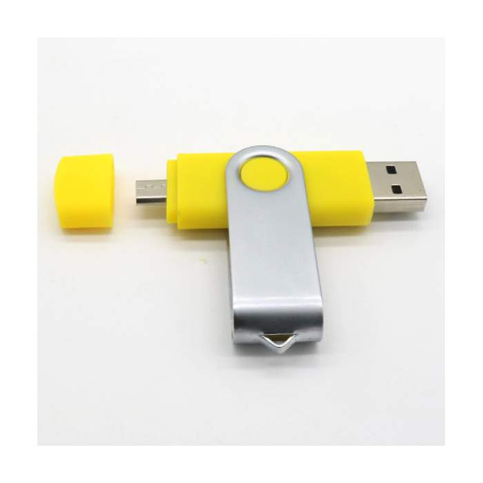 Clé USB personnalisée 32Go coloris jaune