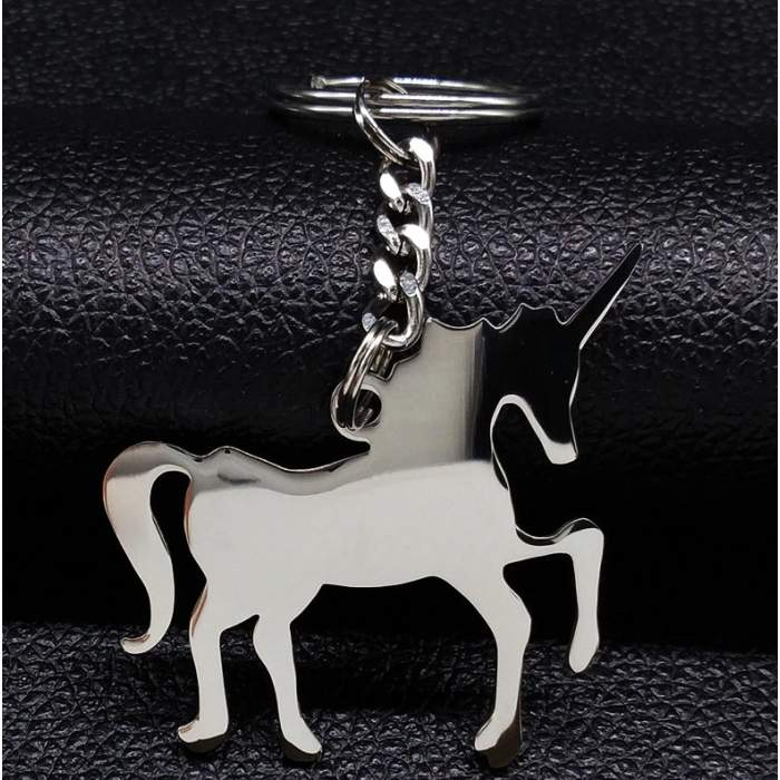 Porte-clés personnalisé licorne
