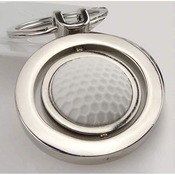 Porte-clés personnalisé balle de golf