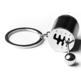 Porte-clés gravé levier de vitesse