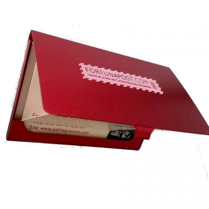 gravure porte carte