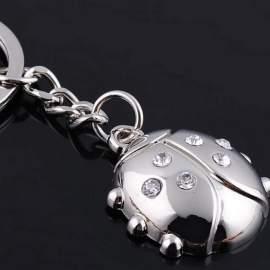 Porte clé coccinelle