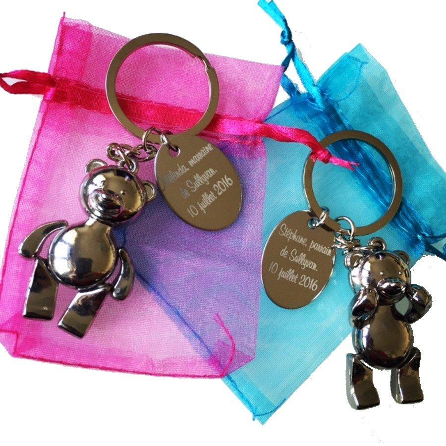 porte-clés personnalisés photo, texte ou logo - cadeau personnalisé