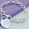 Bracelet coeur personnalisé