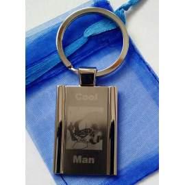 Porte-clé avec gravure offerte