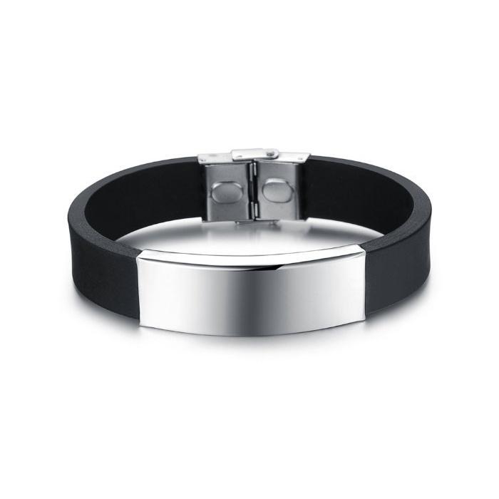 qualité de la marque baskets pour pas cher construction rationnelle Bracelet personnalisable pour hommes
