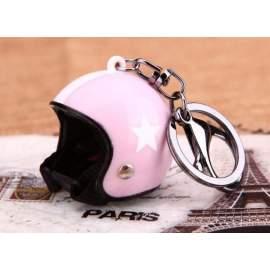 Porte-clé casque scooter - femme