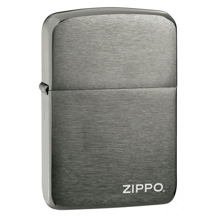Zippo Replica 1941 Black Ice avec logo