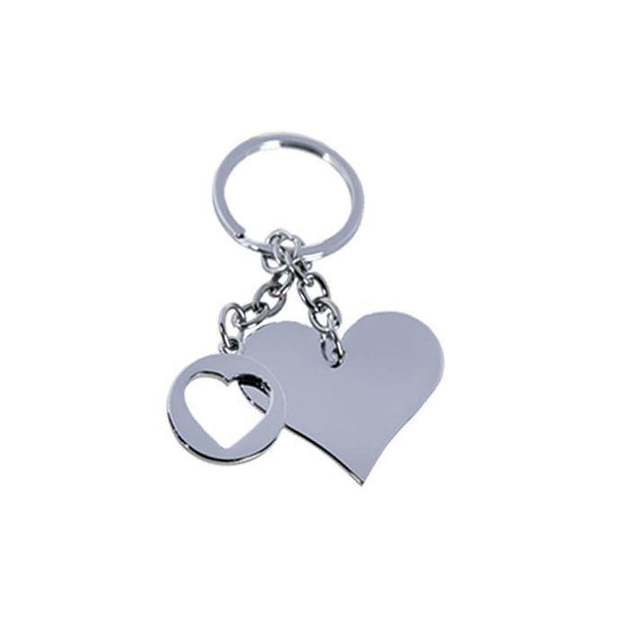 Porte-clé cœur personnalisé