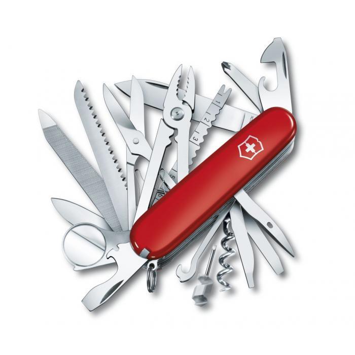 Couteau suisse Swisschamp Victorinox personnalisé