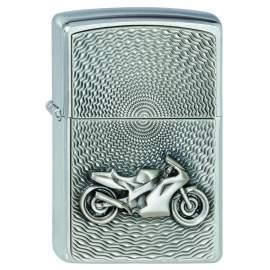 Zippo Motorbike Emblem Moto
